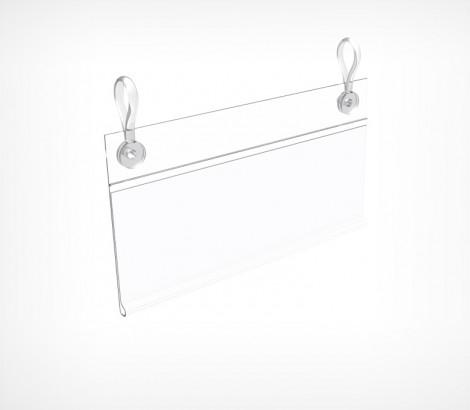 Ценникодержатель универсальный с отверстиями для клипс DBH
